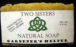 Two Sisters' Gardener's Helper soap is one of my favorites!